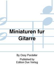 Miniaturen fur Gitarre