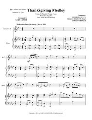THANKSGIVING MEDLEY (Clarinet/Piano with Clarinet Part)