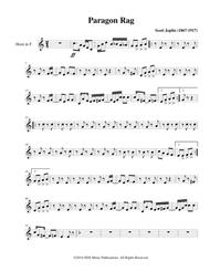 Paragon Rag: Classic Ragtime for Brass (Horn in F)