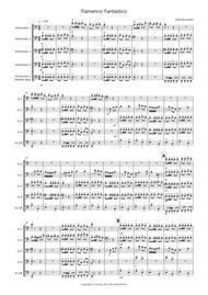 Flamenco Fantastico for Cello Quintet