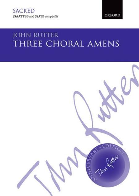 Three Choral Amens
