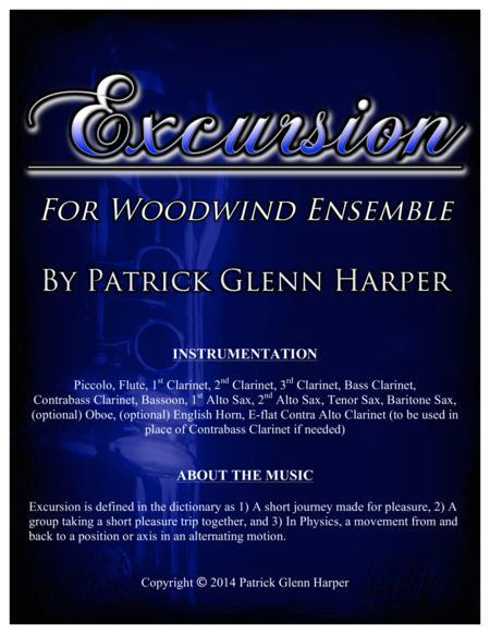 Excursion for Woodwind Ensemble