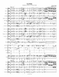 La Folia (Symphonic variations on a theme by Corelli) - Score and parts
