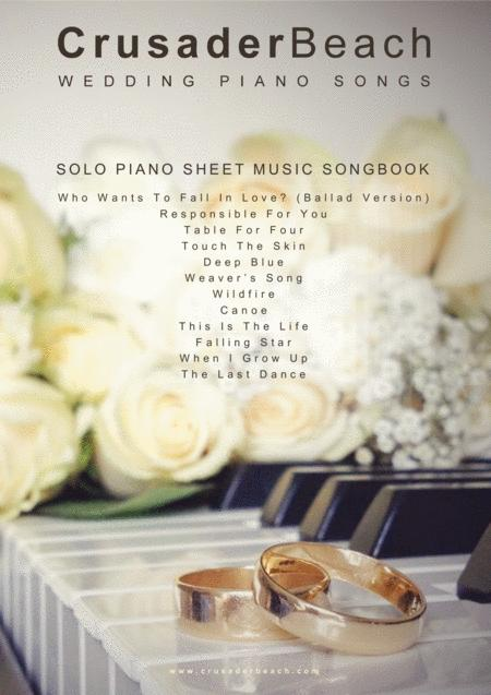 Wedding Piano Songs - CrusaderBeach - Wedding Music Piano Solo Songbook