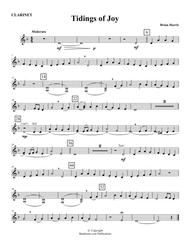 TIDINGS OF JOY (young concert band - Easy - score, parts, & license to copy - winter concert)