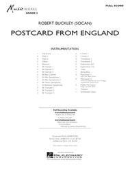 Postcard from England - Conductor Score (Full Score)
