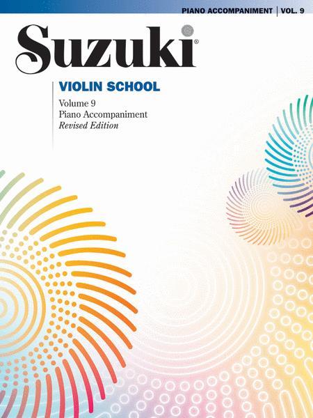 Suzuki Violin School, Volume 9