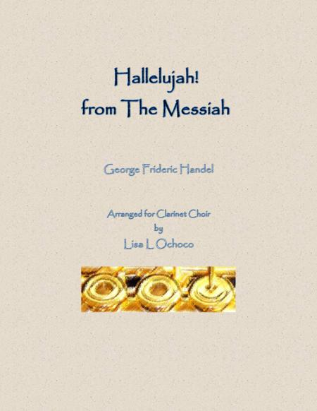 Hallelujah from The Messiah for Clarinet Choir