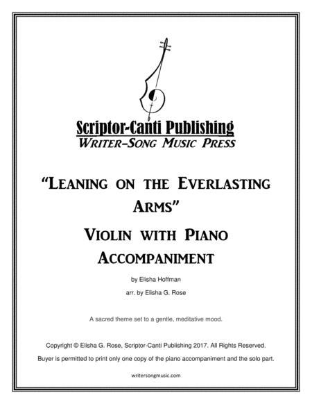 Leaning on the Everlasting Arms - Violin