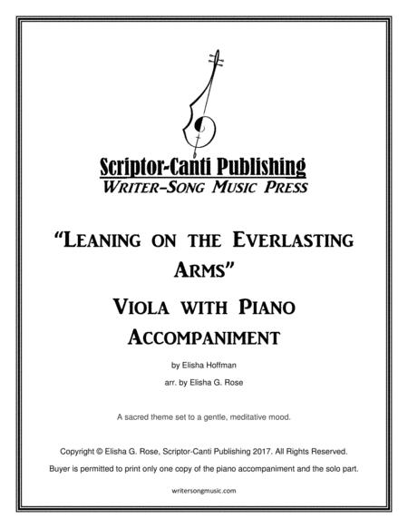 Leaning on the Everlasting Arms - Viola