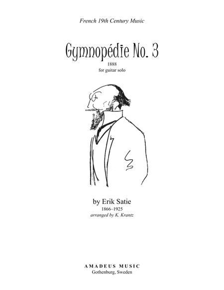 Gymnopedie No. 3 for guitar solo