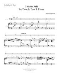 Concert Aria for Double Bass & Piano