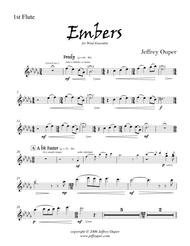 Embers (for Wind Ensemble)