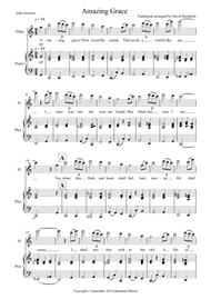 Amazing Grace for Flute and Piano
