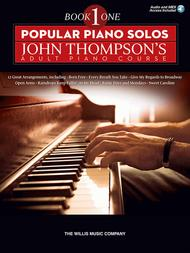 Popular Piano Solos - John Thompson's Adult Piano Course (Book 1)