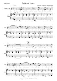 Amazing Grace for Clarinet and Piano