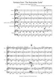 Dance of the Sugar Plum Fairy (Fantasia from Nutcracker) for String Quartet