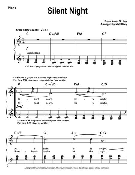 Silent Night (With Alpha Notes)
