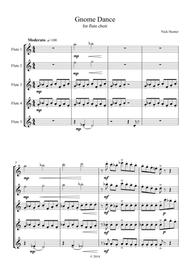 Gnome Dance for Flute Choir