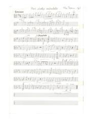 Little composition for viola solo
