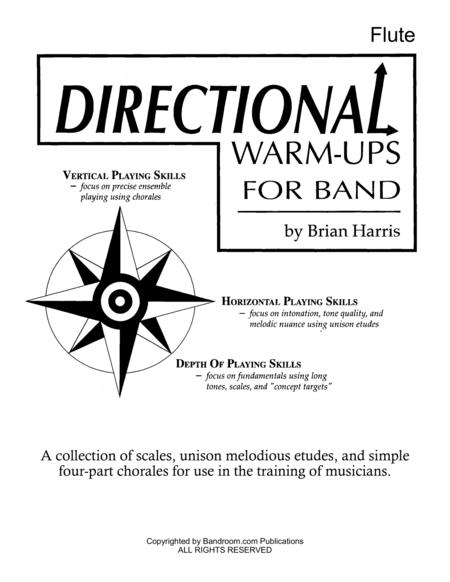 Directional Warm-Ups for Band (method book - Part Book Set A: Flute, Oboe, Bassoon, and site license to photocopy)