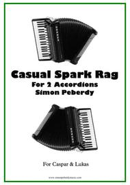 Casual Spark Rag, for 2 Accordions
