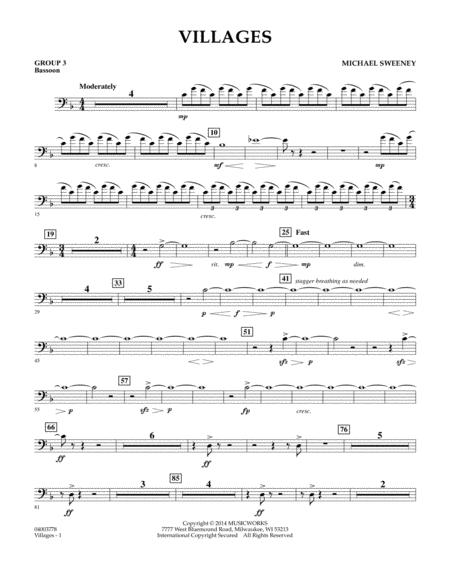 Villages - Bassoon (Group 3)
