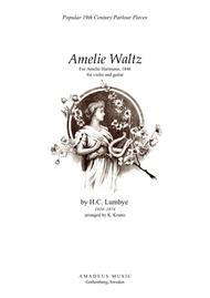 Amelie Waltz for violin and guitar