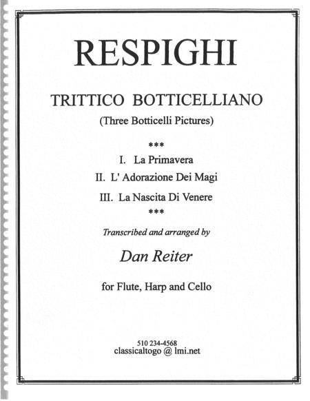 Respighi, Ottorino:  Three Botticelli  Pictures