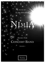 Nimia for concert band (Score)