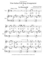 Four Italian Folk Song Arrangements