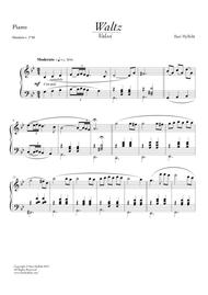 Waltz for piano