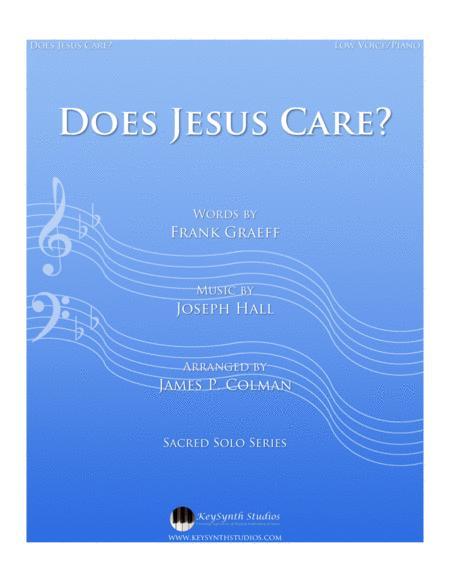 Does Jesus Care?