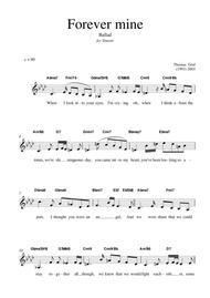 Forever mine - Jazz Ballad