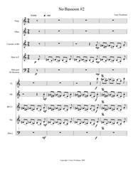 Horn (or Bassoon) Wind Quartet #2