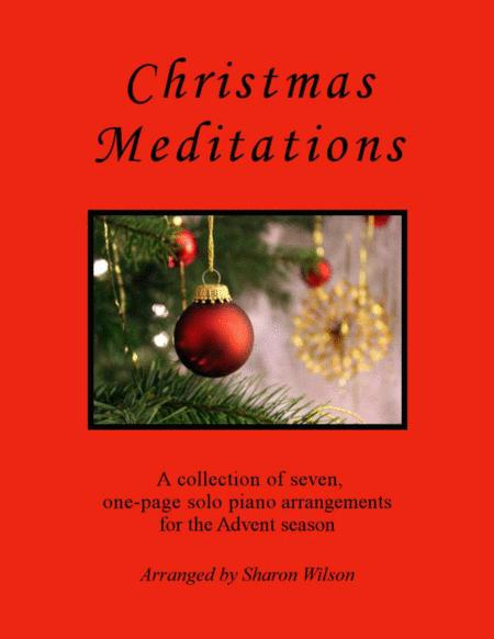 Christmas Meditations (A Collection of One-Page Carols for Solo Piano)