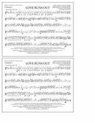 Love Runs Out - Clarinet 1