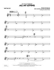 All My Loving - Baritone Sax