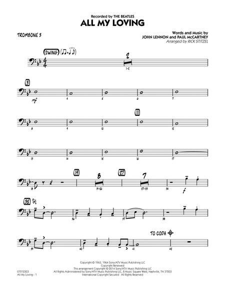 All My Loving - Trombone 3