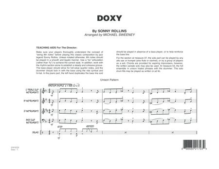 Doxy - Conductor Score (Full Score)