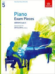 Piano Exam Pieces 2015 & 2016, Grade 5