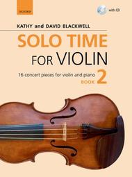 Solo Time for Violin Book 2 (book and CD)
