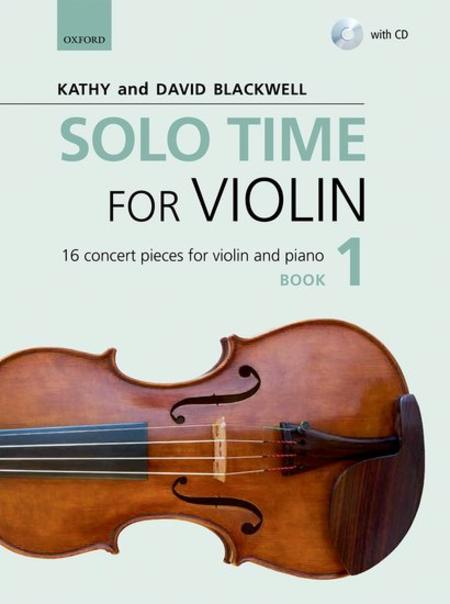 Solo Time for Violin Book 1 (book and CD)