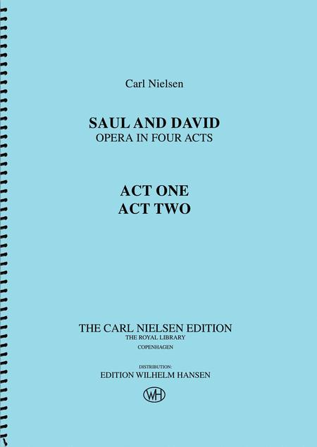 Saul and David - Opera in Four Acts