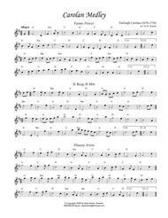 Carolan Medley for flute or violin with guitar chords