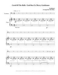 Carol of the Bells / God Rest Ye Merry Gentlemen – Trombone