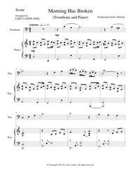 MORNING HAS BROKEN (Trombone/Piano and Trombone Part)