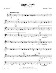 Broadway! - Bb Clarinet 3