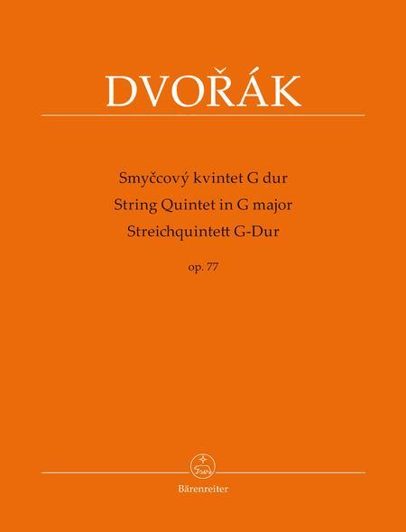 String Quintet G major op. 77