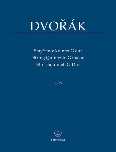 Streichquintett G-Dur, Op. 77